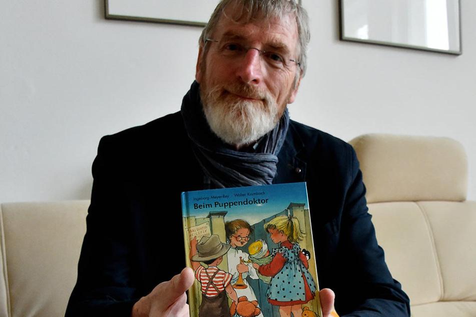 Rainer E. Klemke ist Projektleiter beim örtlichen Bürgerverein. Er bereitet derzeit die Ehrung des Dichters zu dessen 100. Geburtstag am 1. April vor.