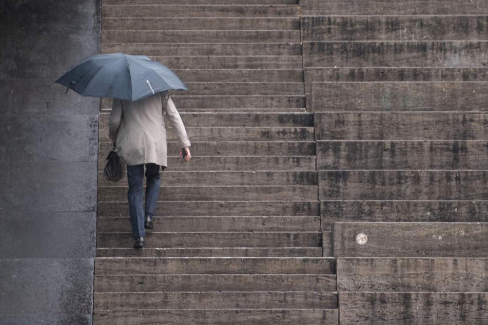 Die kommenden Tage ist mit Regen zu rechnen.