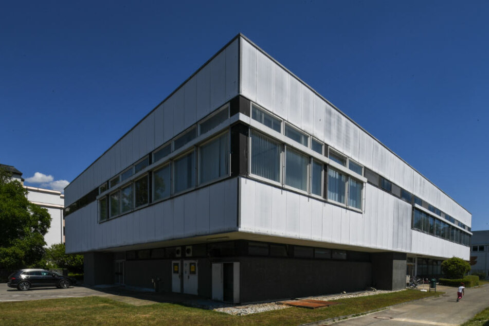 Die ehemalige Siemens-Kantine wurde für den Prozess umgebaut. (Archiv)