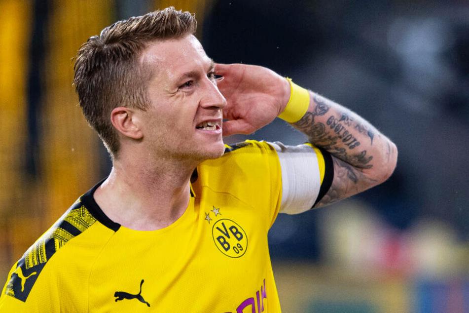 Marco Reus erzielte vor elf Tagen das entscheidende Siegtor im Bundesliga-Duell seines BVB mit seinem Ex-Klub Borussia Mönchengladbach.