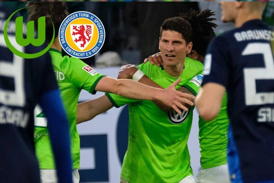 Elfmeter-Geschenk lässt Wolfsburg hoffen