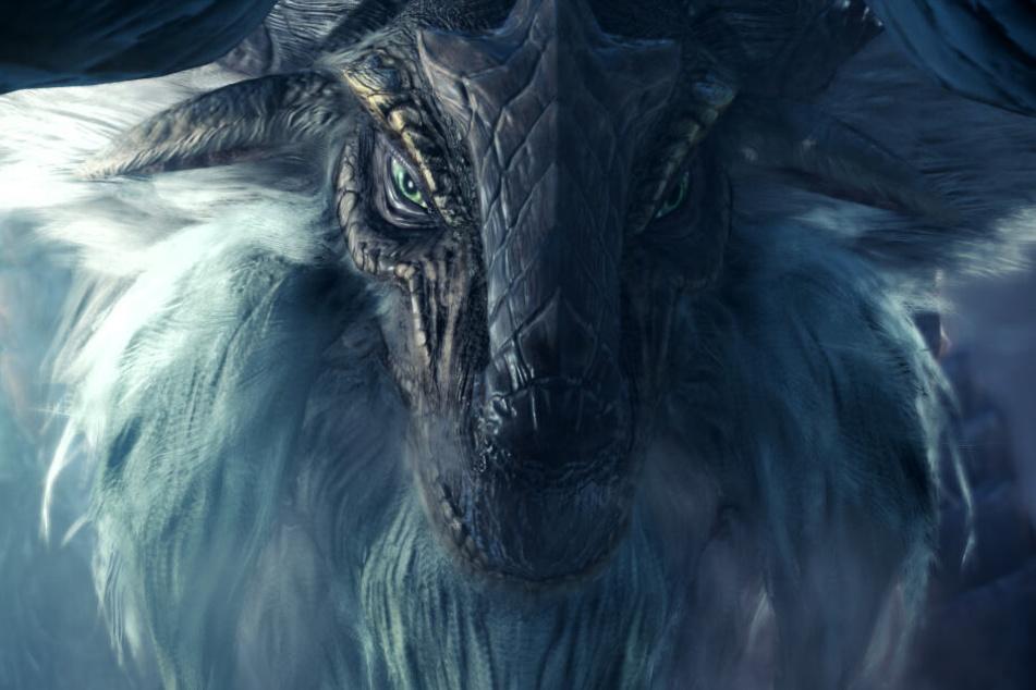 """Die Stars der Reihe sind und bleiben die Monster, wie dieser """"Banbaro"""". Die Ungeheuer wurden auch in """"Iceborne"""" mit viel Liebe zum Detail entworfen."""