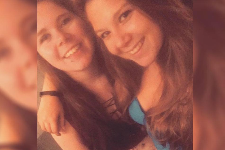 Summer (links) und ihre Freundin Courtney (21).