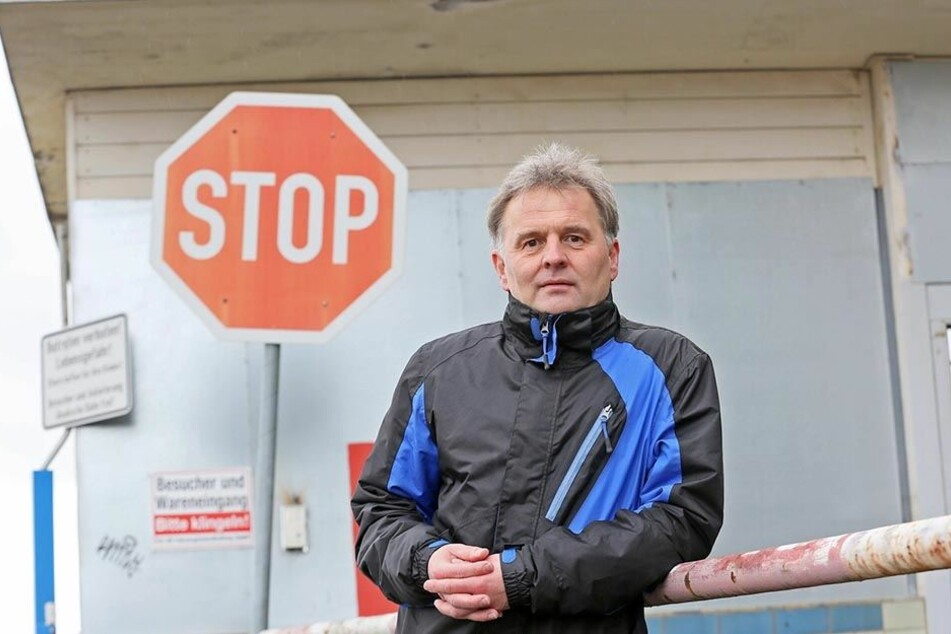 Lutz Reinhold (54), Sprecher der Bürgerinitiative.