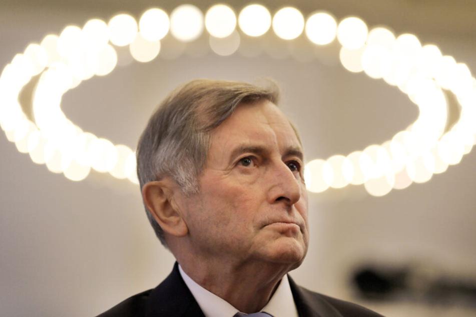 Alt-Landtagspräsident Alois Glück spricht beim Artenschutz Klartext.