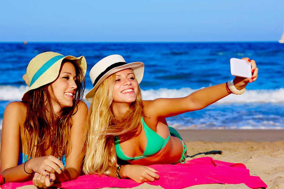 Am Strand ein Selfie machen und sofort bei Instagram hochladen? Ab Juni geht das ohne Zusatzkosten!