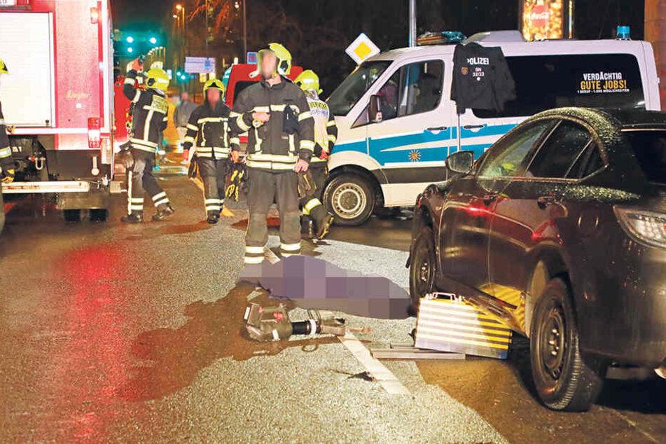 Tödlicher Unfall in Chemnitz: Vater stand seiner sterbenden Tochter in den letzten Minuten bei