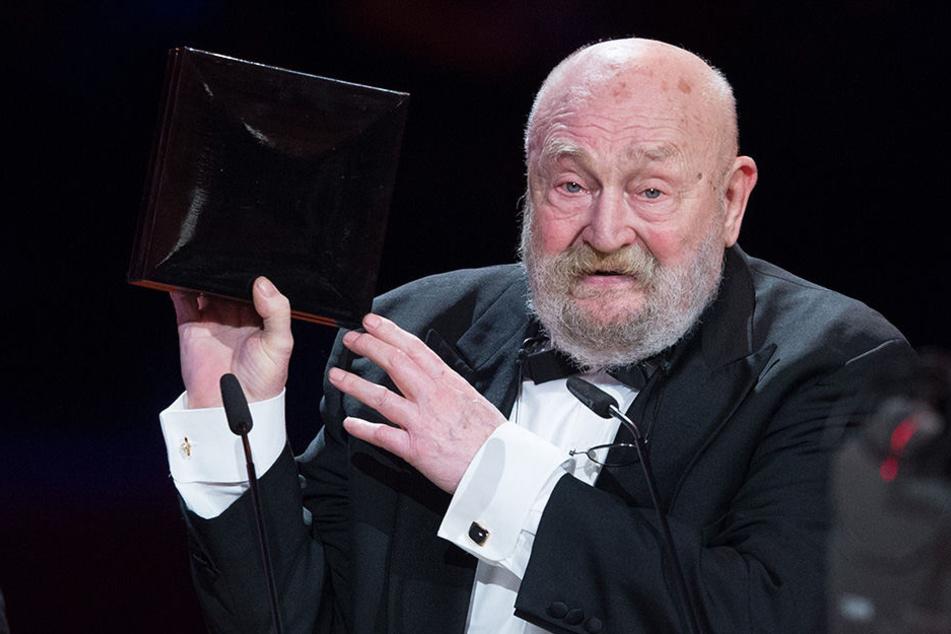 Rolf Hoppe wird am 25. August in Annaberg für sein Lebenswerk ausgezeichnet.