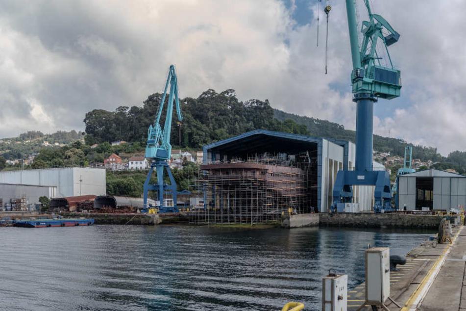 Das Segelschiff wird derzeit in einer Werft in Spanien gebaut.