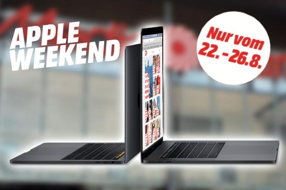 Egal für welches Modell Ihr Euch entscheidet, bis Montag bekommt Ihr die MacBooks zum Megapreis!