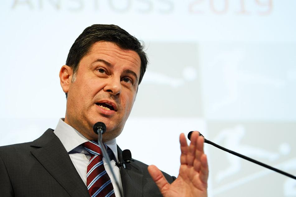 DFL-Geschäftsführer Christian Seifert begrüßt die Wahl der Findungskommission des DFB.