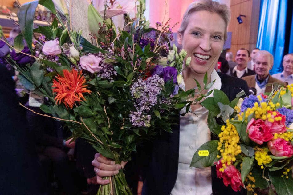 Die AfD-Mitglieder wählten Alice Weidel mit 54 Prozent auf dem Sonderparteitag in Böblingen zur neuen Vorsitzenden der AfD Baden-Württemberg.