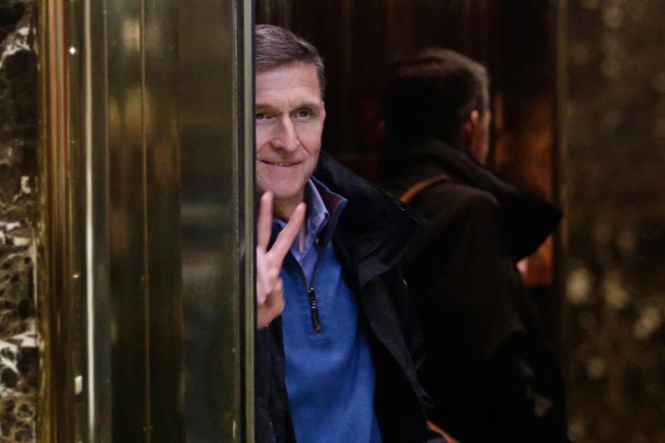 Und tschüss! Michael Flynn hat im Weißen Haus hingeworfen.