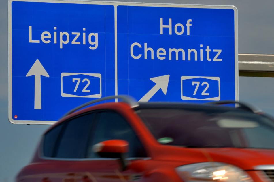 Auf der A72 ist am Samstag ein Transporter-Fahrer betrunken unterwegs gewesen. (Symbolbild)
