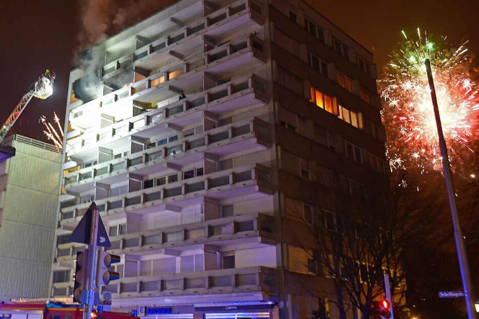 Polizei und Feuerwehr ziehen Bilanz: So war Silvester in München!