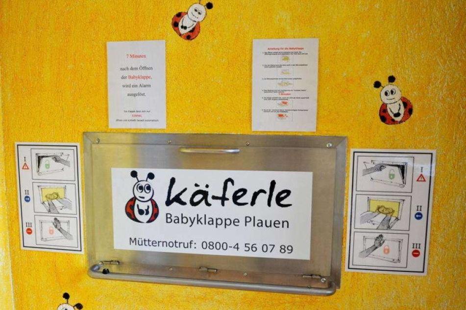 """Die Babyklappe """"Käferele"""" in Plauen."""