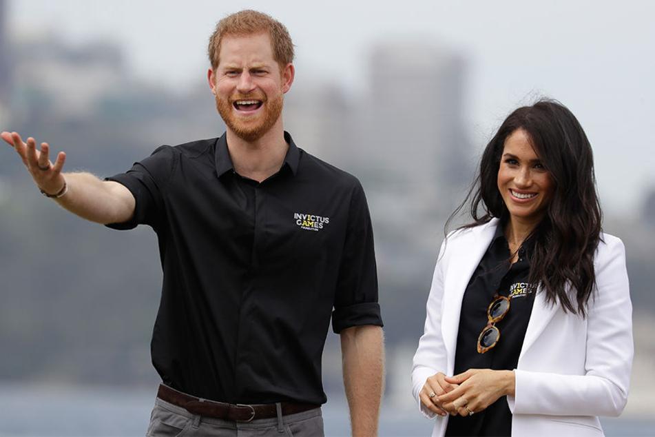 Harry und Meghan werden im nächsten Jahr zum ersten Mal Eltern.