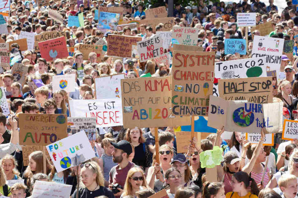 Fridays for Future will in Thüringen seltener demonstrieren