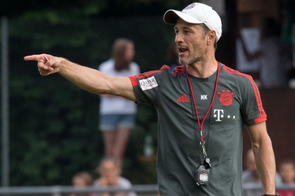 Niko Kovac will mit dem FC Bayern München den Supercup gegen Frankfurt gewinnen.