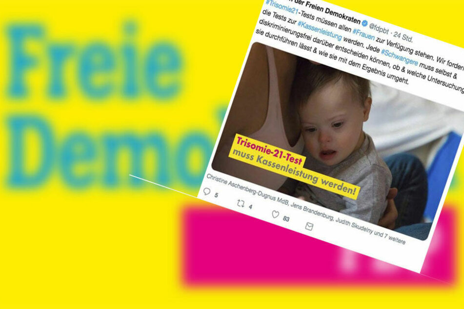 FDP sorgt mit Tweet über Downsyndrom für heftigen Shitstorm