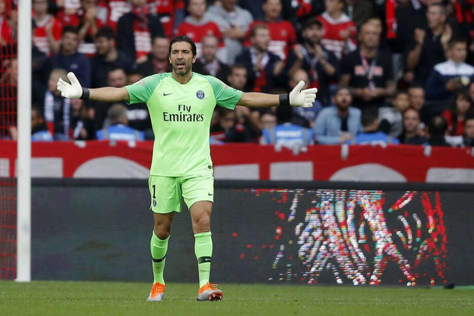 Wird in der kommenden Saison nicht mehr für Paris Saint-Germain auflaufen: Torwart-Legende Gianluigi Buffon.