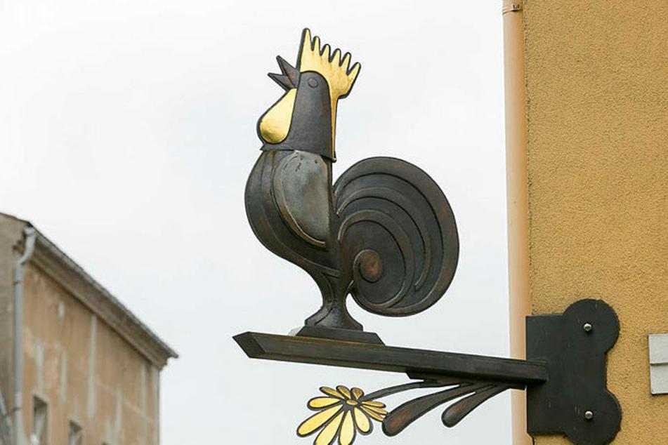 Der Hahn ist ein nationales Symbol Frankreichs.