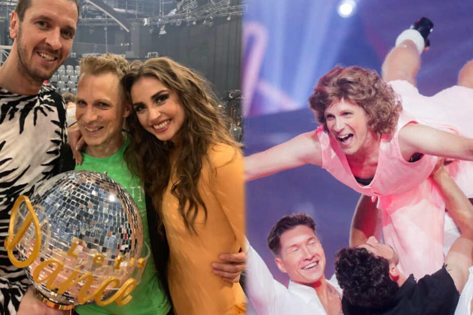 """Oliver Pocher (41) tanzte beim """"Let's Dance""""-Finale wieder aus der Reihe."""