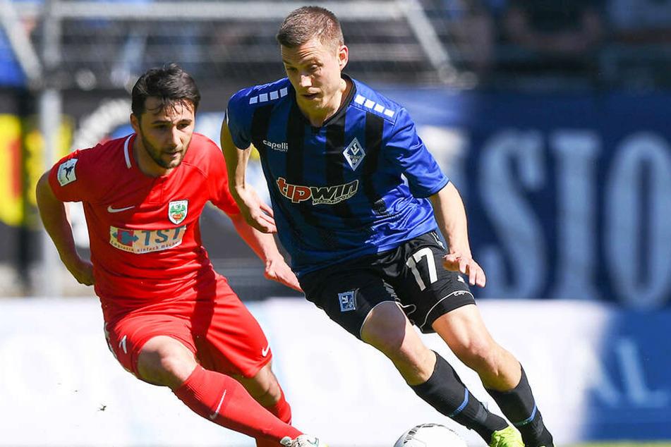 Gianluca Korte wird auch in der 3. Liga als dribbelstarker Wirbelwind schwer zu verteidigen sein.