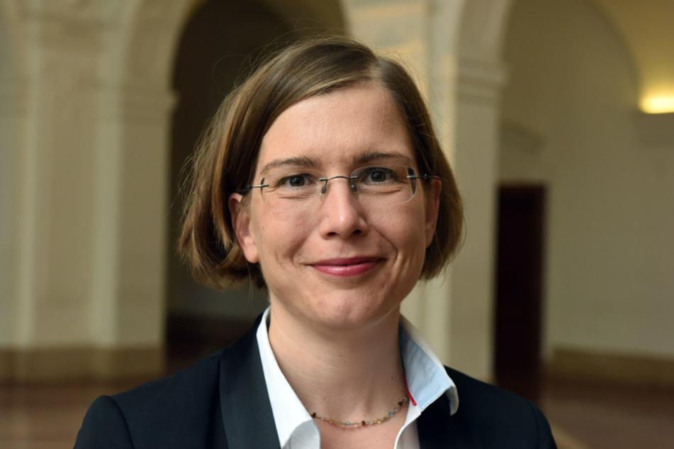 Leipzigs Kultur-Bürgermeisterin Dr. Skadi Jennicke informierte jetzt über  Einzelheiten des Münzdiebstahls.