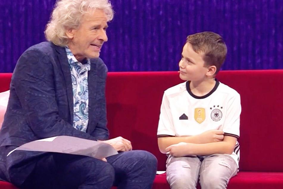 Dieser 8-Jährige aus Halle macht Thomas Gottschalk sprachlos!