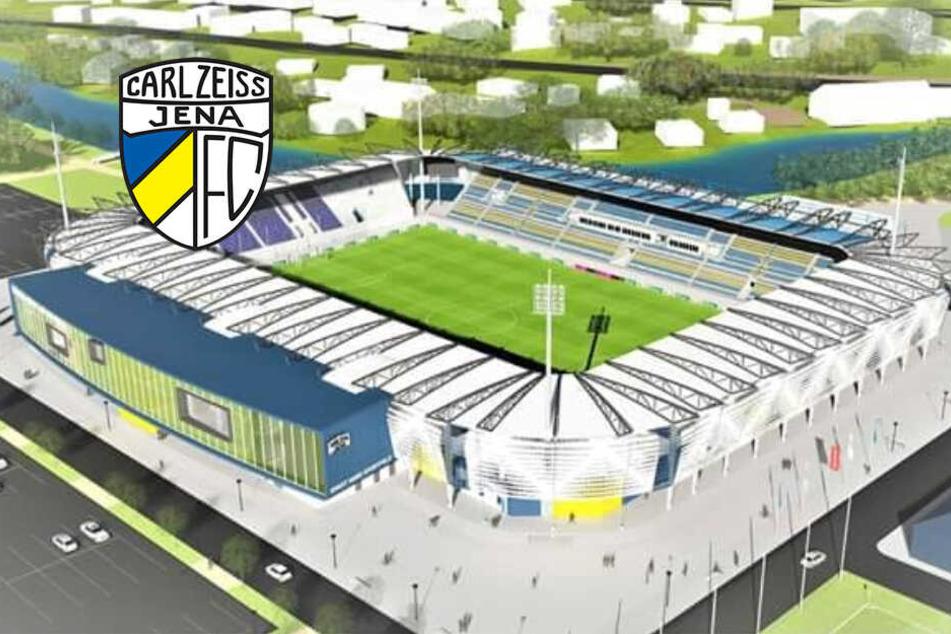 Ein Traum wird wahr! FC Carl Zeiss Jena bekommt neues Stadion