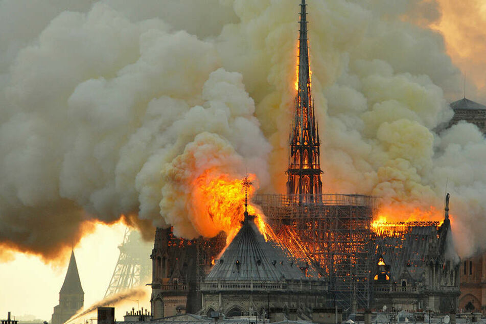 Mitte April brannte Notre-Dame lichterloh.