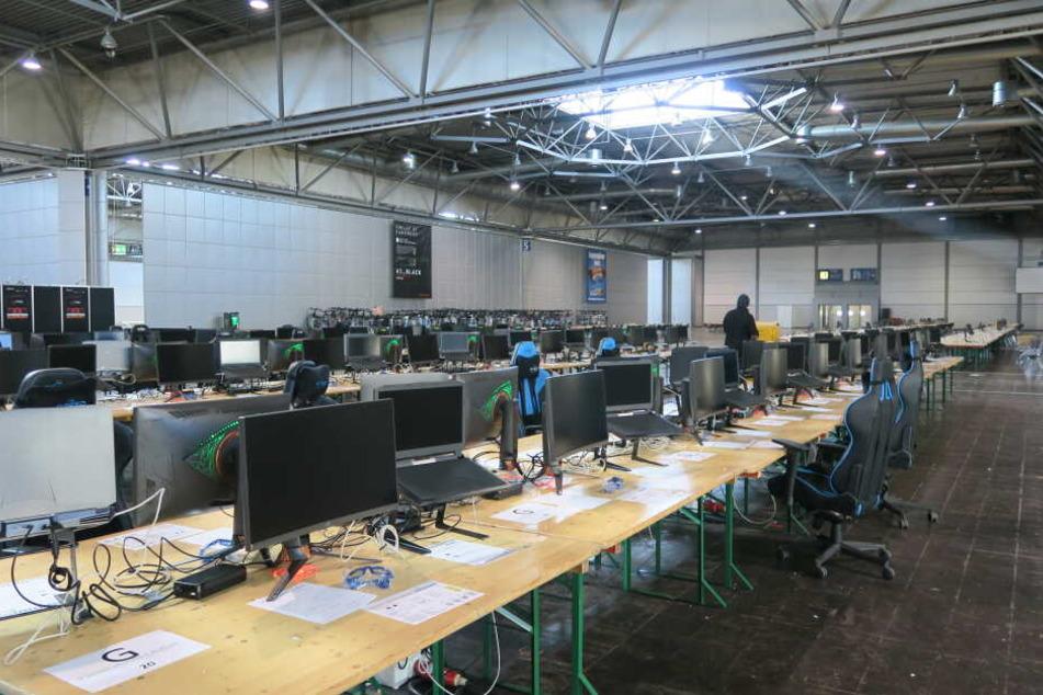 2000 Plätze stehen in diesem Jahr bei der LAN-Party der Dreamhack Leipzig bereit. Die Vorbereitungen für das Mega-Zocker-Event haben zwischen zehn und 15 Monaten gedauert.