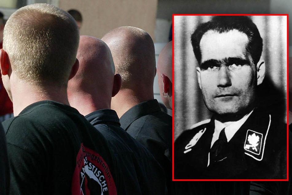 Der Aufmarsch in Gedenken an Hitlers-Stellvertreters Heß wird auf mehrere Gegendemonstrationen von Linksextremen stoßen.