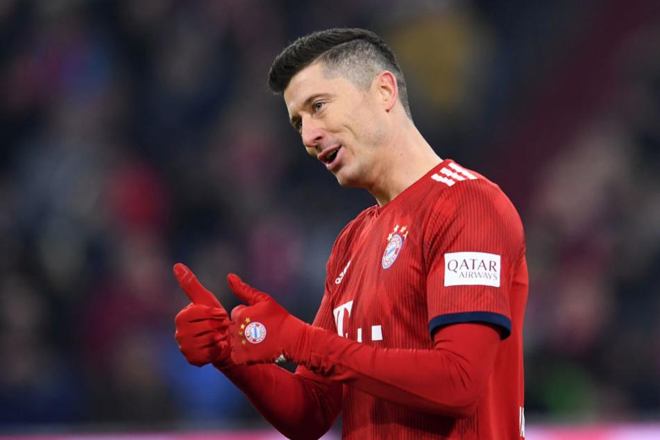 Robert Lewandowski kann sich ein Karriereende beim FC Bayern vorstellen.