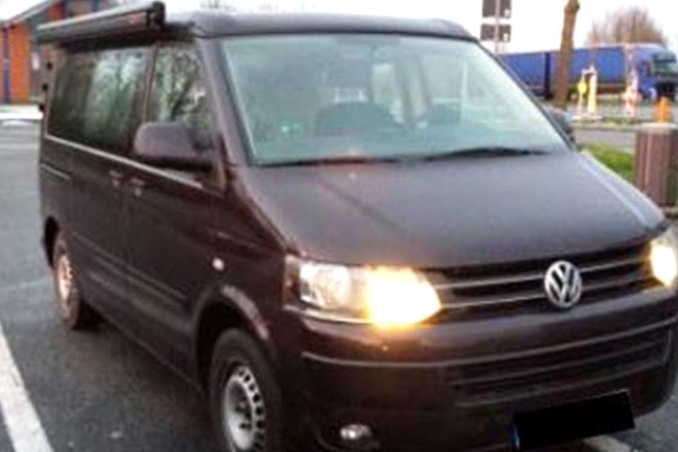 Ein gestohlener Transporter wurde auf der A4 sichergestellt. Der Fahrer festgenommen.