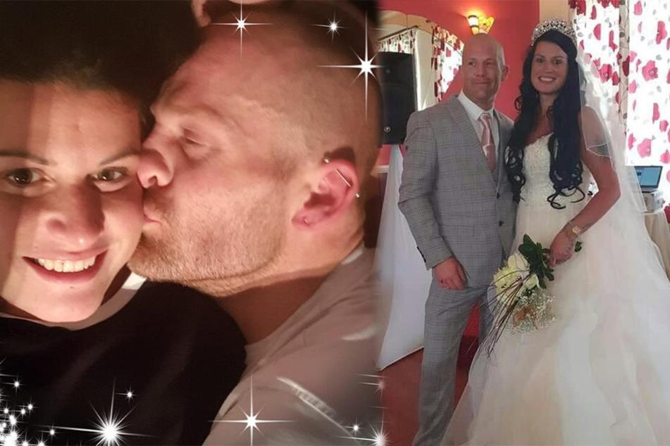 Aleasha Pilawa und Paul Schoproni waren schon lange vor der ungewöhnlichen Hochzeit ein Paar.