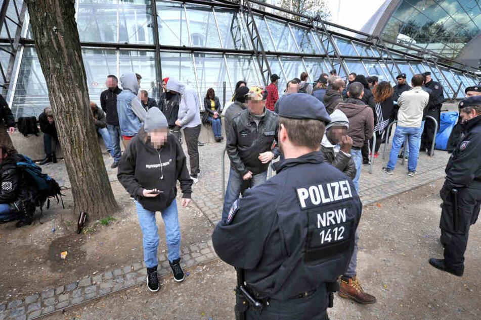 """An der """"Tüte"""" in Bielefeld gab es schon häufiger Probleme."""