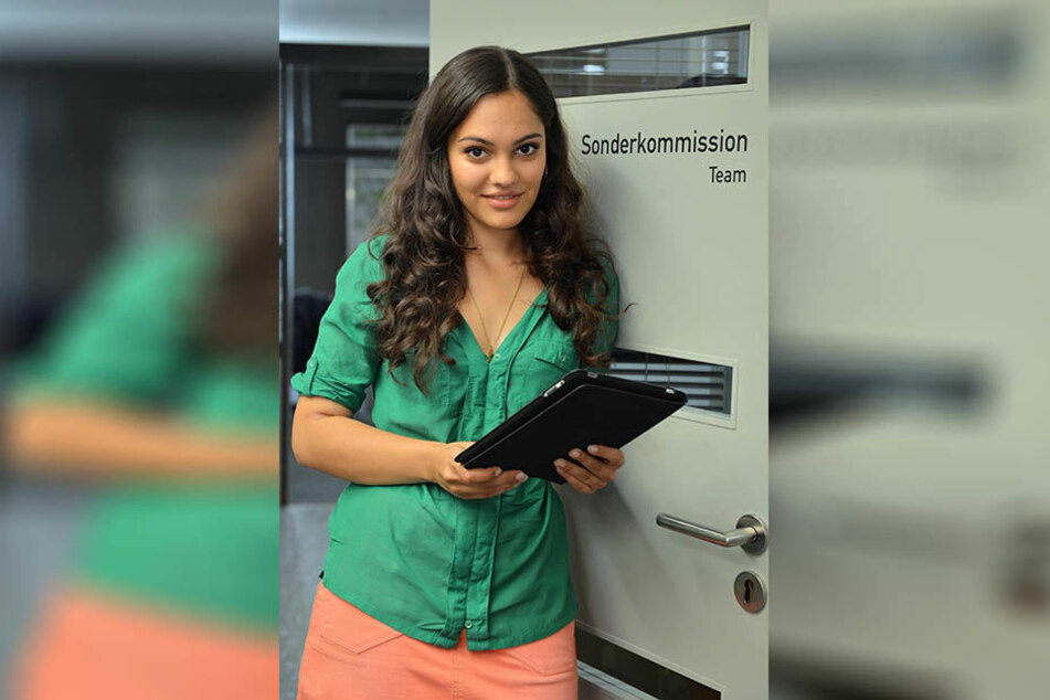 """2012 stieg Nilam Farooq als Kommissarin Olivia Fareedi bei """"SOKO Leipzig"""" ein. Nach sechs Jahren hatte sie vergangene Woche ihren letzten Drehtag."""