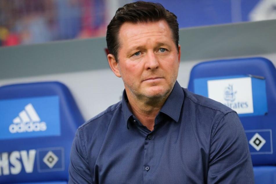Ex-HSV-Trainer Christian Titz sorgt sich um Jatta.