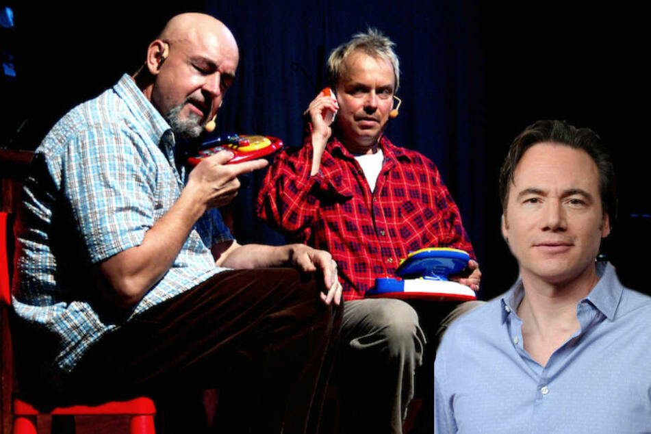 """Komiker Bully Herbig (rechts) gibt zu, dass die Sketche von """"Badesalz"""" ihn inspiriert haben."""