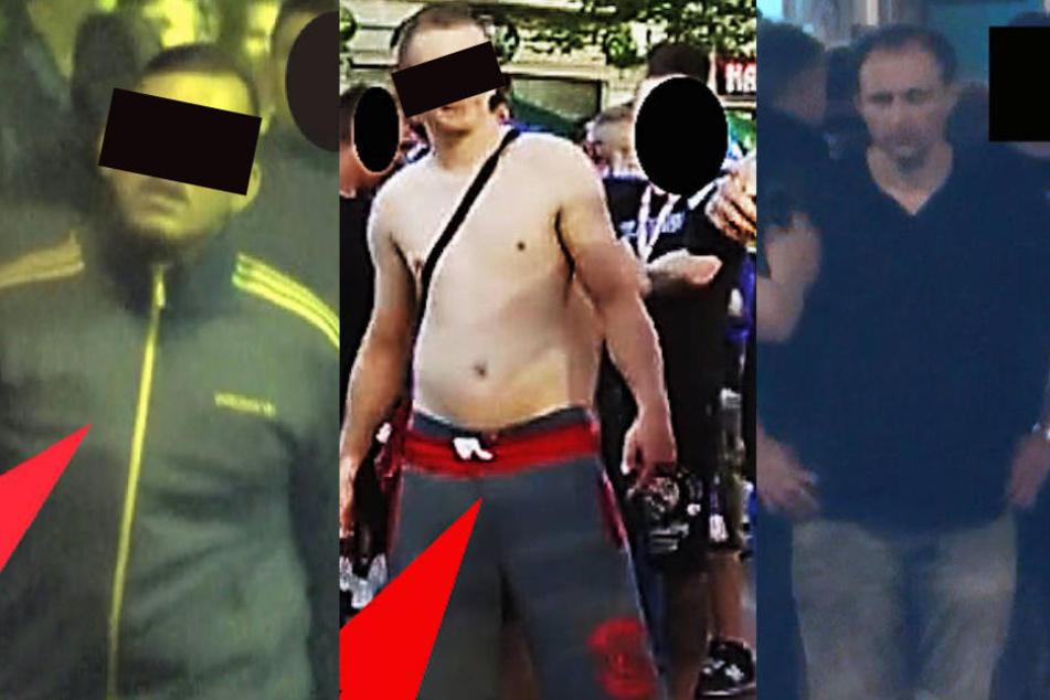 Die Polizei veröffentlichte nun die ersten Fahndungsfotos der Tatverdächtigen.