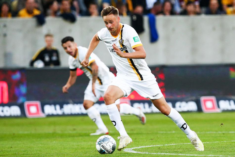 Lucas Röser (27) erzielte für Dynamo Dresden in 57 Einsätzen 14 Tore und gab drei Vorlagen.