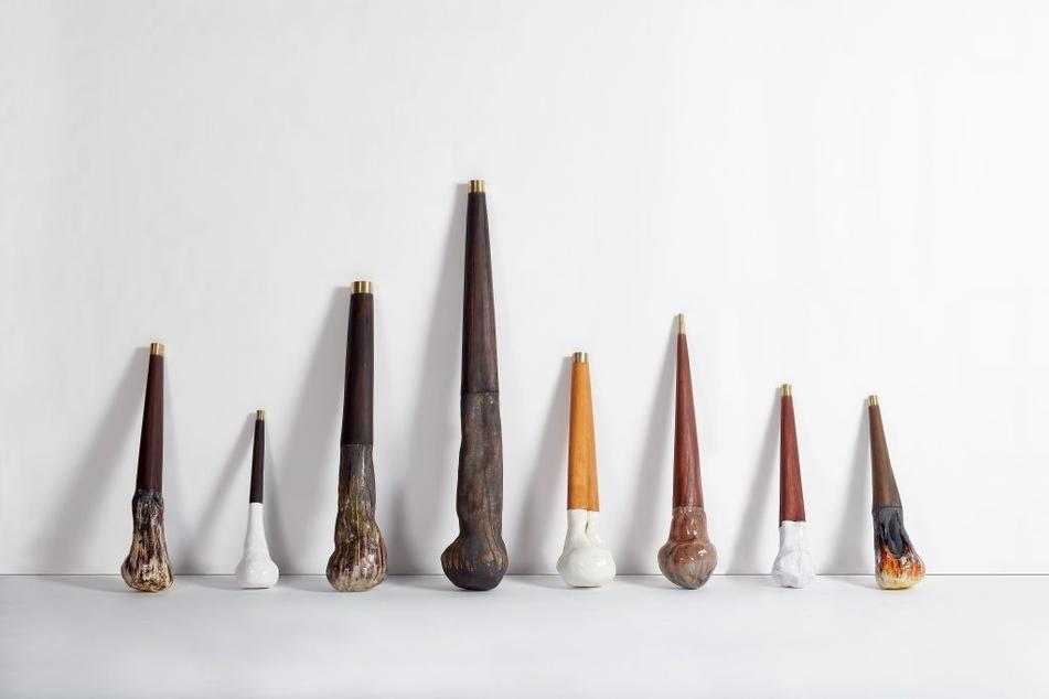 """""""Keulen"""" (2011) heißt diese Keramik-Installation von Su-Ran Sichling."""
