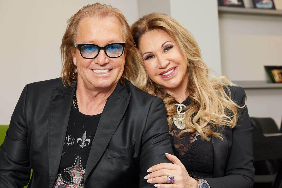 Robert Geiss (57) und Ehefrau Carmen (55) im Januar 2018: Der TV-Star erwägt nach seiner Festnahme in Madrid eine Klage gegen Spanien. (Archivbild)