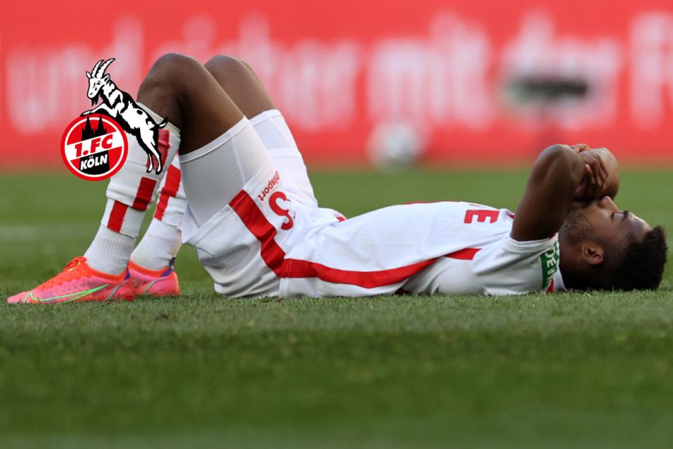 Keine Tore für 1. FC Köln: Gisdol rechnet mit Leih-Stürmer Emmanuel Dennis ab