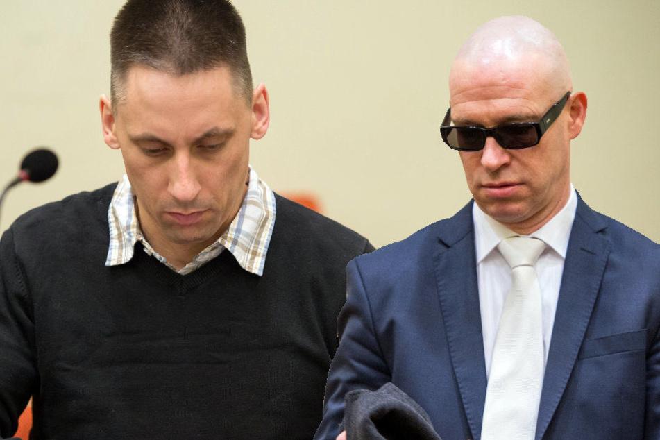 Ralf Wohlleben soll die Mordwaffe beschafft haben. Rechts im Bild: Einer seiner Verteidiger die den Prozess verzögert haben sollen.