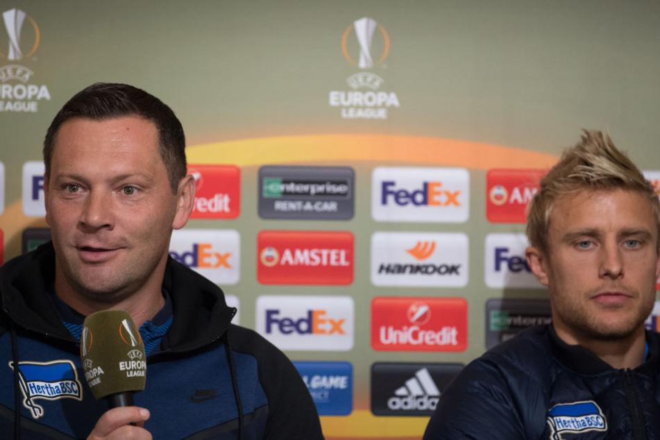 Der Mittelfeldspieler betritt drei Europa League-Spiele für Hertha BSC.