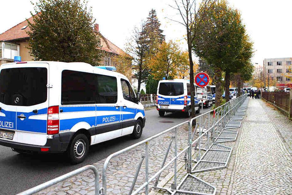 Mehr als 1000 Polizisten waren im Einsatz.