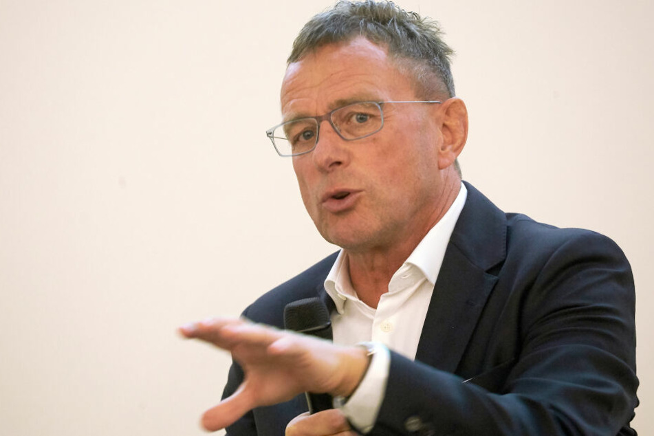 Ralf Rangnick, Head of Sport and Development Soccer bei der Red Bull GmbH, will offenbar nicht Bayern-Trainer werden.